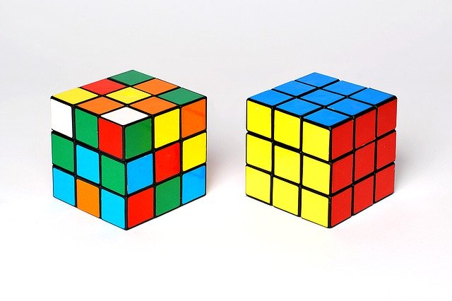 ルービックキューブの完全体とプロセス