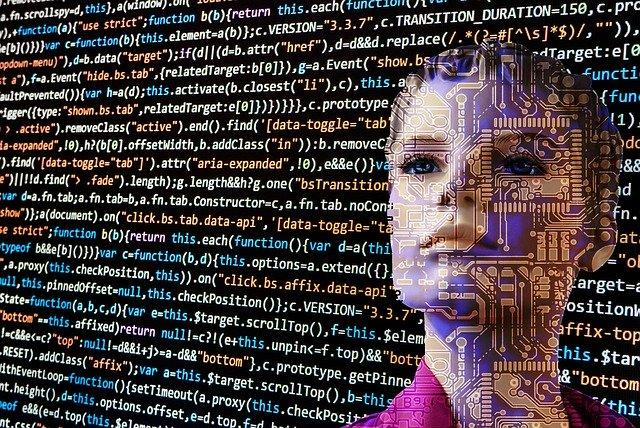 プログラミング言語の背景に人間の表情