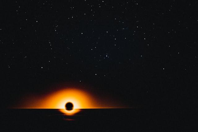 ブラックホールのイメージ図