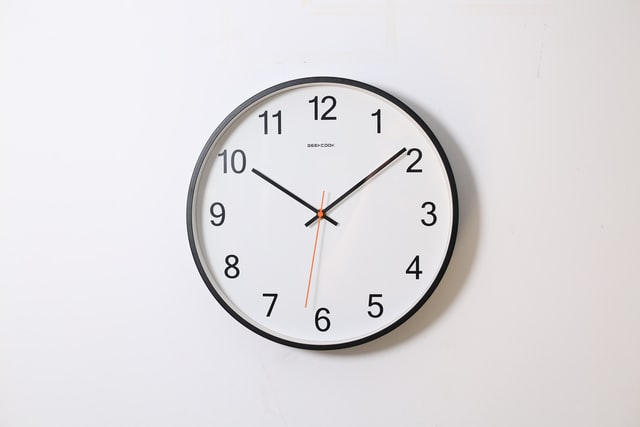 時計のイメージ図