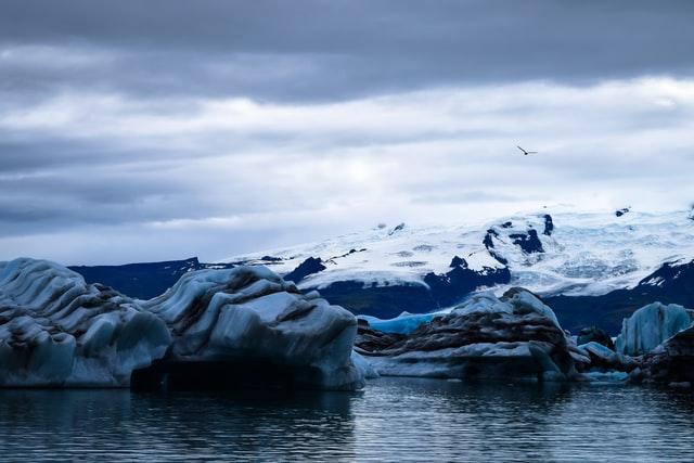 氷河期のイメージ図